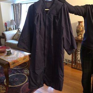 Navy Blue Graduation Gown
